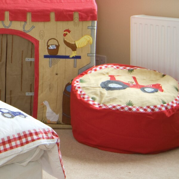 Small 100% Cotton Classic Bean Bag By Zoomie Kids